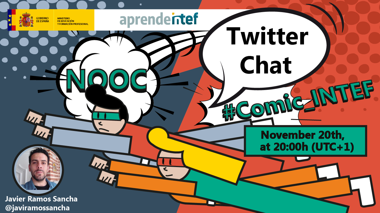 Banner evento #Comic_INTEF